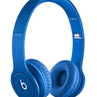 Beats By Dre Solo HD Monochrome Blue Headphones