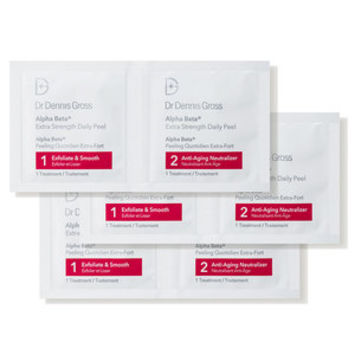 Dr. Dennis Gross Skincare Alpha Beta Extra Strength Daily Peel - Packettes - Dermstore