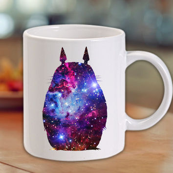 totoro beatiful place Galaxy Mug/Cup