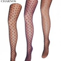 Mary Portas & Charnos Sheer Spot Tights - Tights, Stockings, Shapewear and more - MyTights.com - The Online Hosiery Store