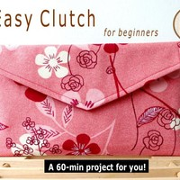 Easy Clutch - Pdf Sewing Pattern on Luulla