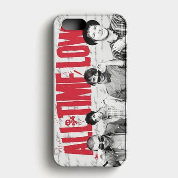 All Time Low Music Band iPhone SE Case