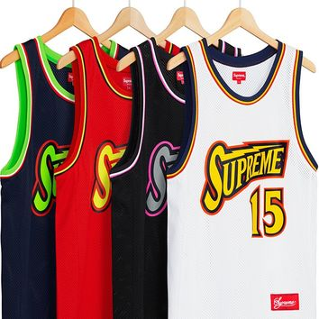 Supreme Bolt Basketball Jersey