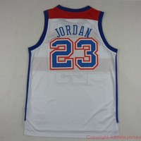 Michael Jordan Washington Bullets 23 NBA Basketball Jersey Michael Jordan Bullets