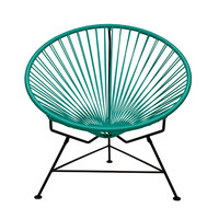 Modern Turquoise Lounge Chair