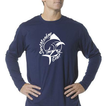 Long Sleeve Unisex Performance Tri-Blend Shirt - Mahi