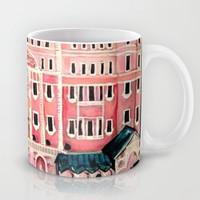 Grand Budapest Hotel Mug by Alison Dillon Art