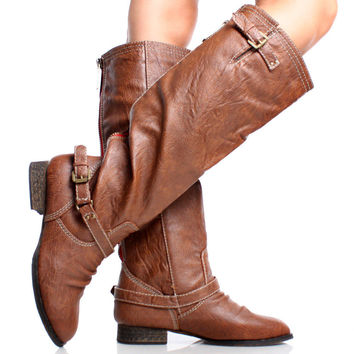 Outlaw-81 Riding Knee High Boots