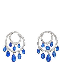 Briolette Blue Sapphire Earrings | Moda Operandi