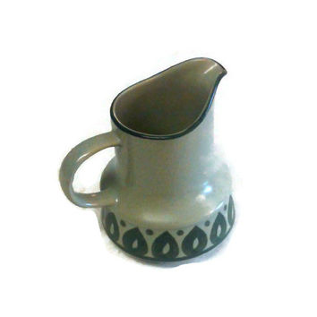 Fashion Manor Stoneware Creamer, Moor Pattern Creamer, Vintage  Kitchenware