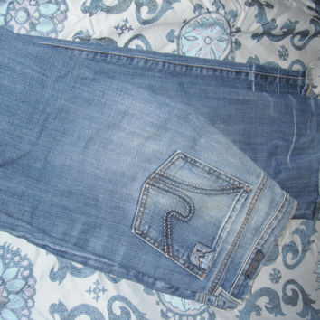 "Citizens Of Humanity ""Low Waist Boot Cut"" Jeans In Size 30."