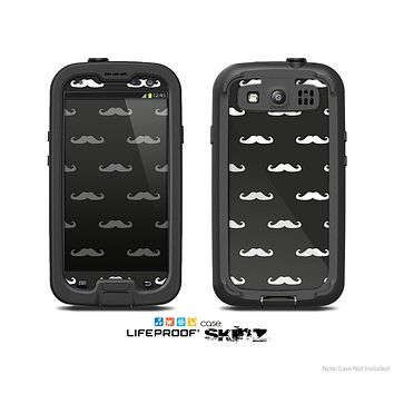 The Mustache Galore Skin For The Samsung Galaxy S3 LifeProof Case