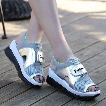 Summer Sport Casual Sandals  Shoes Ladies