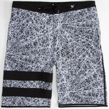 Hurley Phantom Jjf Mens Boardshorts Black/White  In Sizes