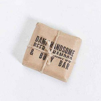 Damn Handsome Beer Shampoo & Body Bar