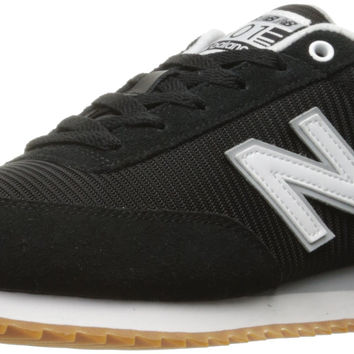 New Balance Men's 501 Lifestyle Fashion Sneaker Black/White 12 D(M) US '