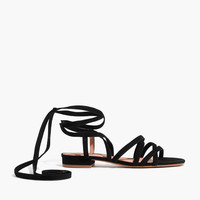 The Holly Ankle-Wrap Sandal