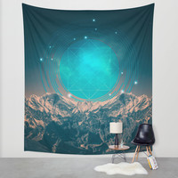 Made For Another World Wall Tapestry by Soaring Anchor Designs