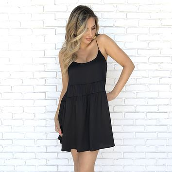 Happy Hour Babydoll Dress