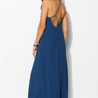 Sparkle & Fade Strappy T-Back Maxi Dress - Urban Outfitters