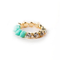 Pastel Spike Stackable Ring