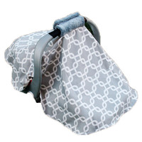 Tent Cover for your Infant Car Seat with Padded Handle Cover- Design Your Own
