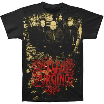 A Plea For Purging Men's  Depravity T-shirt Black Rockabilia