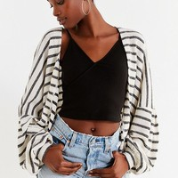 UO Santa Cruz Striped Cardigan | Urban Outfitters