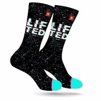 LIFTED WEED MARIJUANA STONER SOCKS