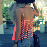 Cage Back Tank | SABO SKIRT