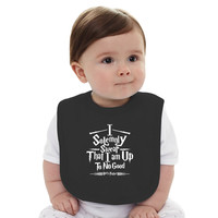 Harry Potter I Solemnly Swear I Am Up To No Good Baby Bib
