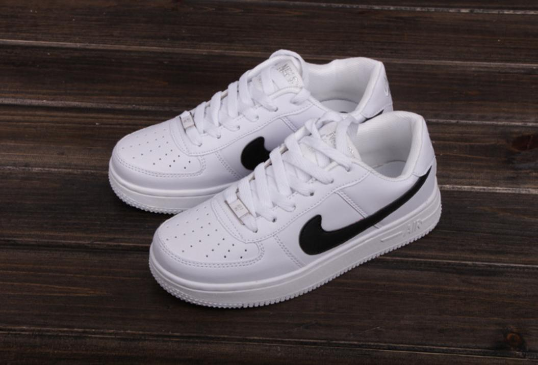 NIKE Women Men Running Sport Casual Shoes Sneakers Air force White eb62622b8952