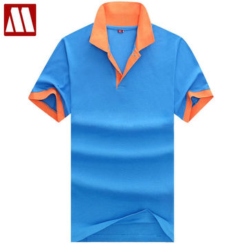 New Men's Polo Shirt For Men Classical Men Cotton Short Sleeve jerseys Man Summer polo shirts