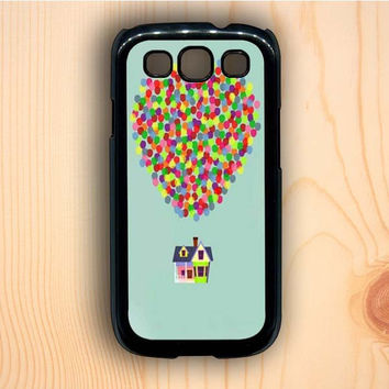 Dream colorful Up And Go Balloon House Master Samsung Galaxy S3 Case