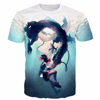 Spirited Away 3D Short Sleeve T-Shirt
