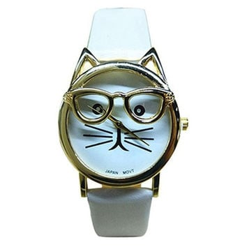 Cute Sunglasses Cat Watch