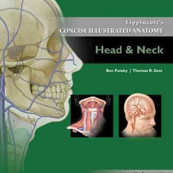 Lippincott's Concise Illustrated Anatomy: Head & Neck (Lippincott's Concise Illustrated Anatomy)