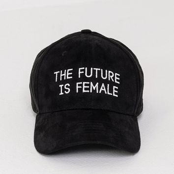 'The Future Is Female' Cap - Black