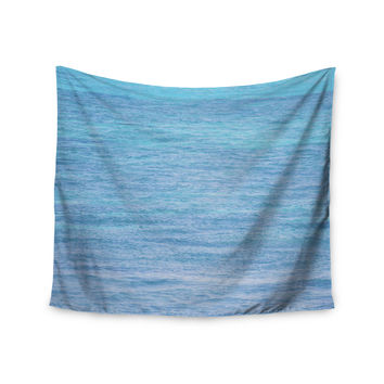 "Catherine McDonald ""South Pacific II"" Ocean Water Wall Tapestry"