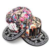 Embroidery Hip-hop Korean Stylish Summer Hats [4917679428]
