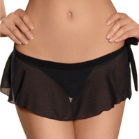 Sexy Sheer Mini Skirt Ajour Folies Bergere CU226