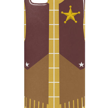 Cowboy Yellow AOP iphone 5 & 5S Plastic Case All Over Print