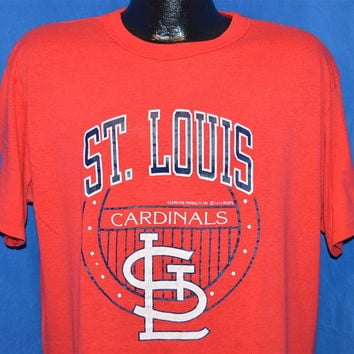 80s St Louis Cardinals 1988 Champion Baseball t-shirt Extra-Large