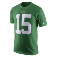 Nike Color Rush Name and Number (NFL Jets / Brandon Marshall) Men's T-Shirt