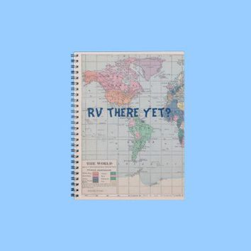RV There yet? Journal from Zazzle.com