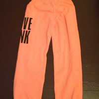 Brand New VS Pink Campus Sweats