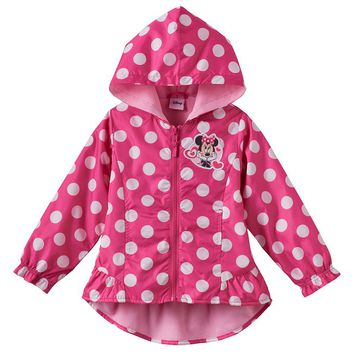 Disney's Minnie Mouse Polka-Dot Jacket - Toddler Girl, Size:
