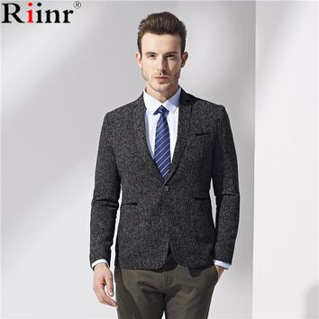 Casual Suit for Men New Arrival Male Summer Spring Suit Fashion Suits High Quality Chinese style Blazers Coat Brand Gent Life