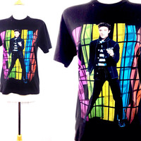 Vintage 90s ELVIS PRESLEY The King Jailhouse Rock T Shirt Sz M