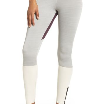 Nike Legendary Mid Rise Zip Cuff Training Tights | Nordstrom